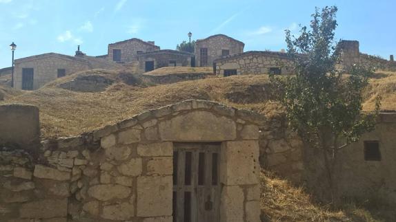 Barrio de bodegas de Moradillo de Roa.