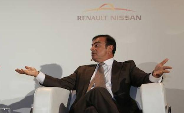 El presidente y director general de la Alianza Nissan Renault, Carlos Ghosn.
