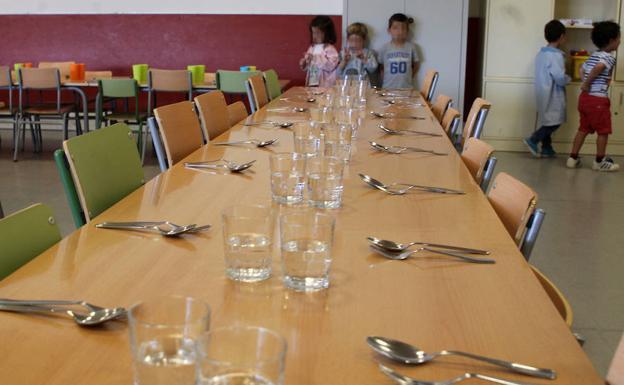Notable alto de los usuarios a los comedores escolares de Castilla y ...