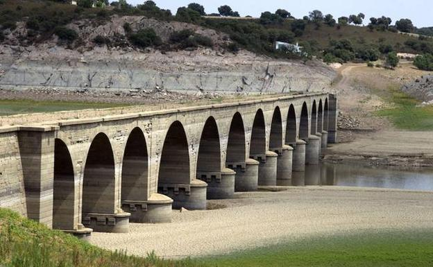 Estado del embalse del Esla, en Zamora.