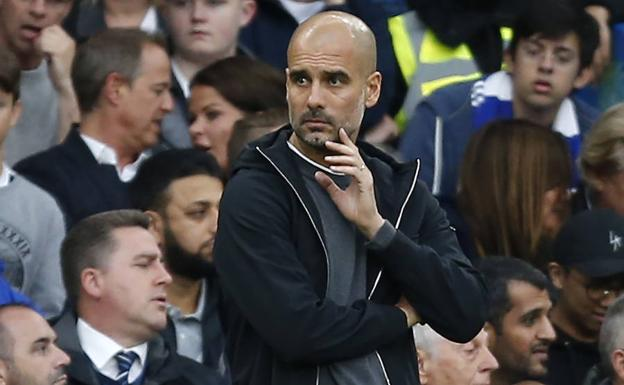 Pep Guardiola./Afp