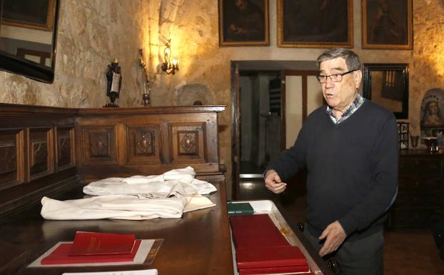Albino García, superior de los jesuitas de Palencia./A. Quintero