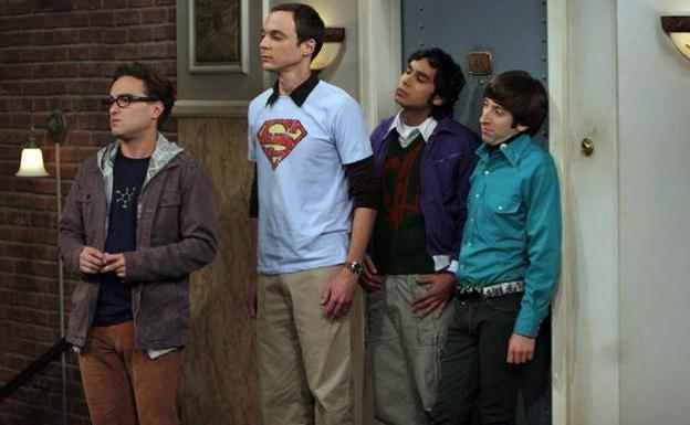 Parte del repato 'The Big Bang Theory'/Agencias