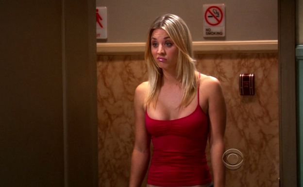 Kaley Cuoco interpreta el papel de Penny en 'The Big Bang Theory'. /ABC