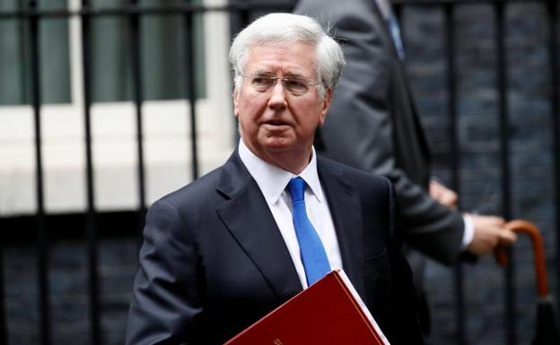 Michael Fallon./Stefan Wermuth (Reuters)