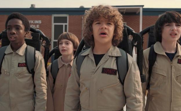 La referencia más obvia de 'Stranger Things'.