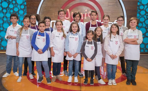 Participantes de 'Masterchef Junior'.