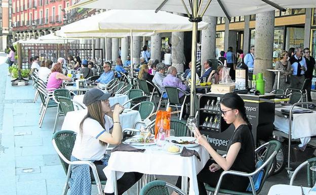 Los Hosteleros De Valladolid Piden Pagar Las Terrazas Cuando