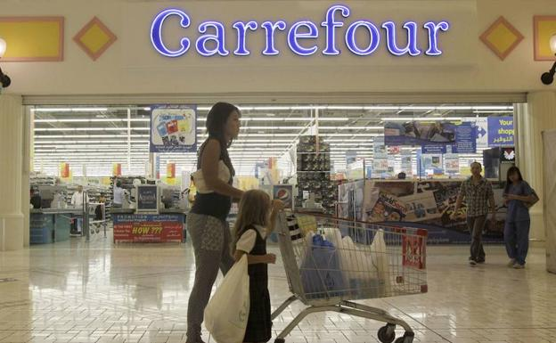 Carrefour./Reuters.