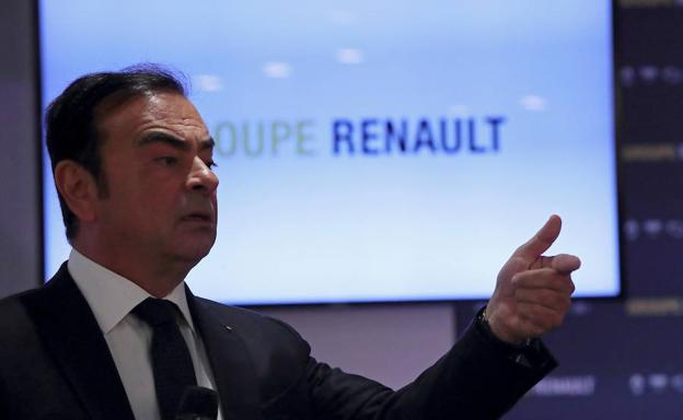 Carlos Ghosn, presidente director general de Renault. /Reuters