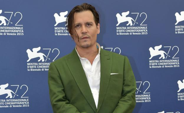 El actor Johnny Depp. /AFP