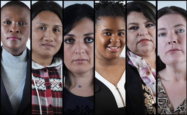Seis mujeres que han vivido en persona la prostitución. /J. R. Ladra