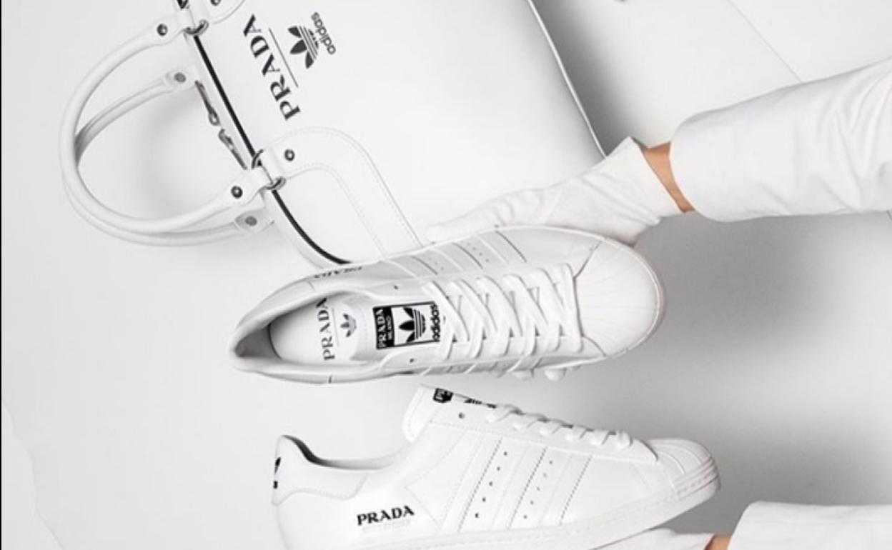 sensación cómoda más baratas salida de fábrica Prada y Adidas han creado las deportivas de lujo que arrasarán ...