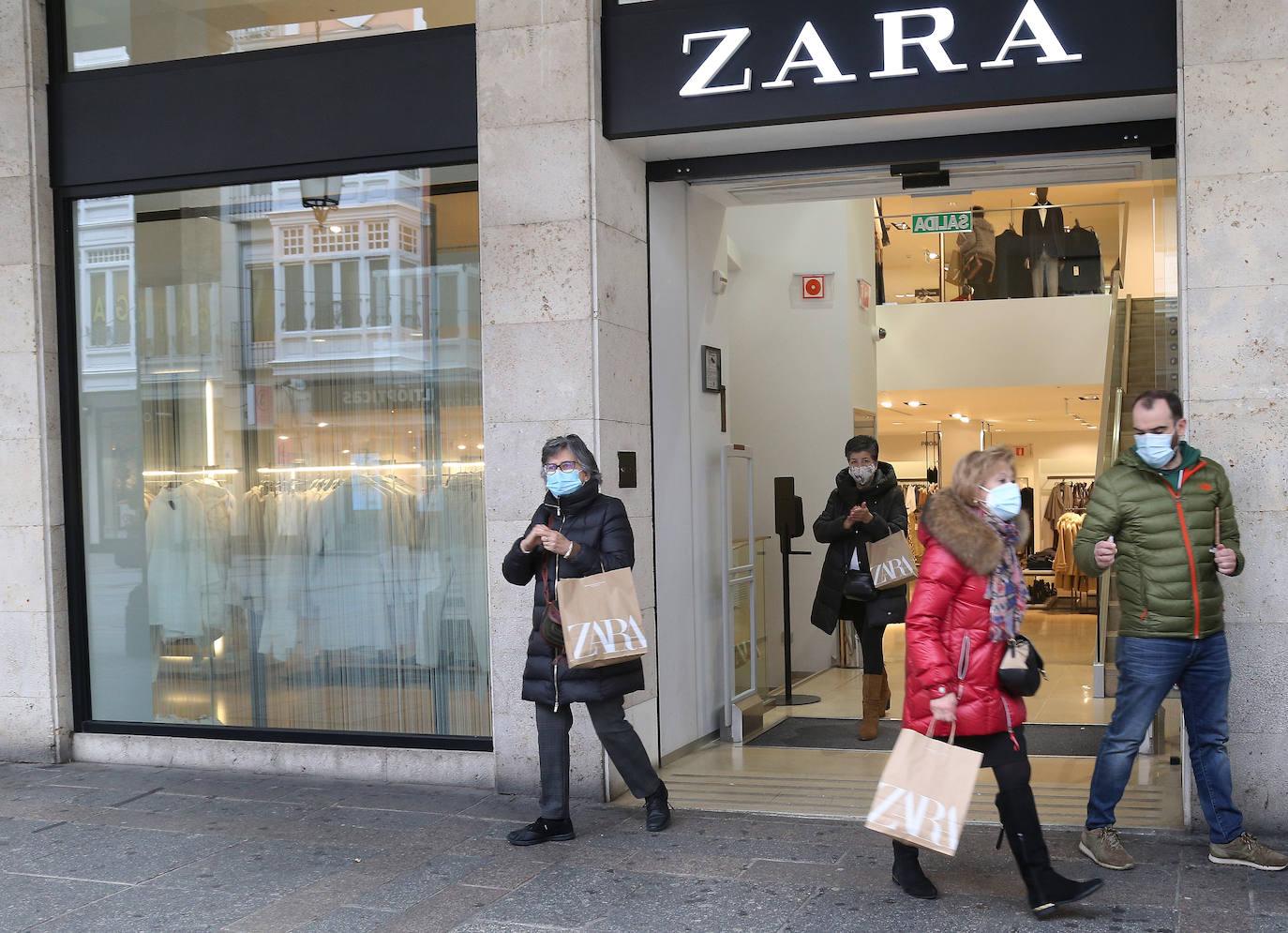 Zara No Espera A Febrero Y Adelanta Al Día 23 El Cierre De Su Tienda De La Calle Mayor De Palencia El Norte De Castilla