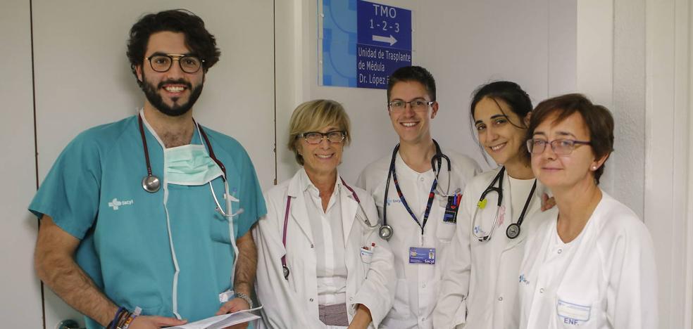 El Servicio de Hematología del Clínico de Salamanca mejora sus cifras de trasplantes pese a la pandemia | El Norte de Castilla