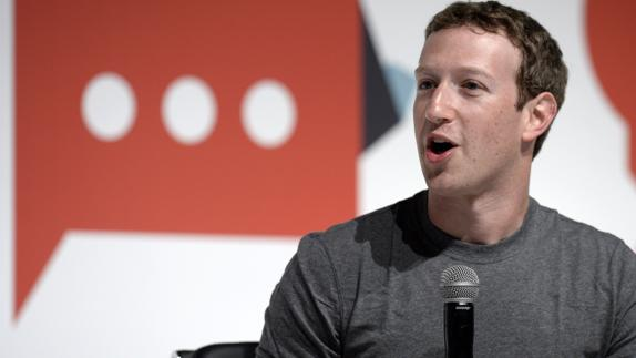 El fundador de Facebook, Mark Zuckerberg./
