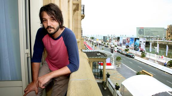 El actor mexicano Diego Luna./