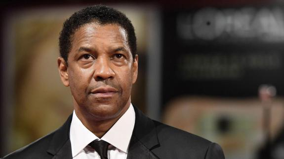El actor y director estadounidense Denzel Washington.