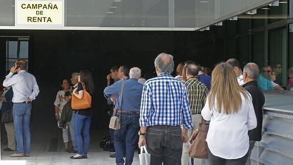 cita agencia tributaria 2014 burgos