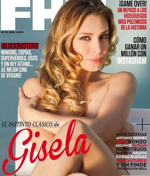 Gisela Se Desnuda Para La Revista Fhm El Norte De Castilla