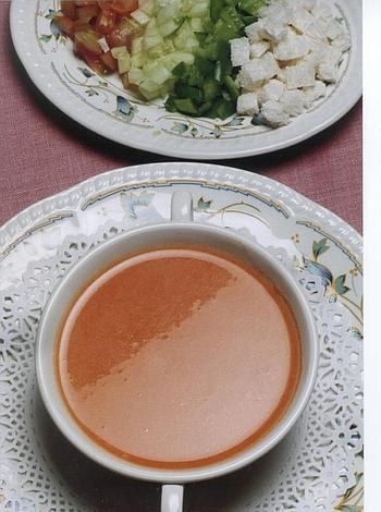 beneficios del gazpacho casero